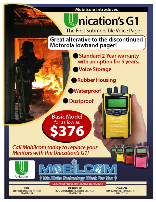 Unication Flyer Ad